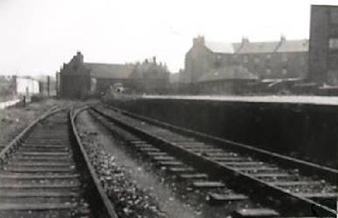 Barrhead Central Station, thanks to Ian Duff of Barrhead