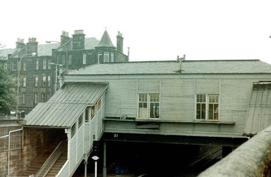 Paisley Canal Station circa 1980  Colin Miller