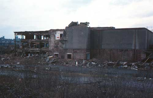 Abercorn goods station demolition  1977 - David Douglas