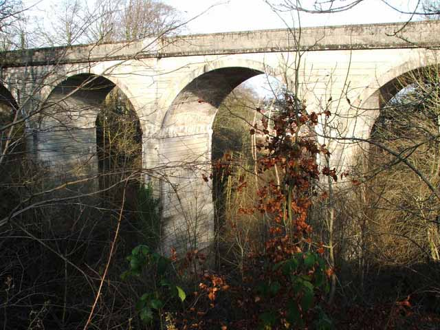 Viaduct  between Barrhead South and Lyoncross