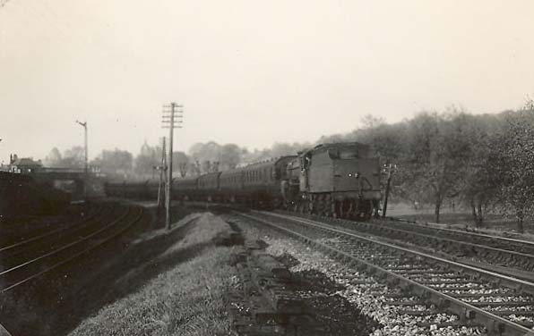 Coresbar Junction - copyright 1953 GH Robin