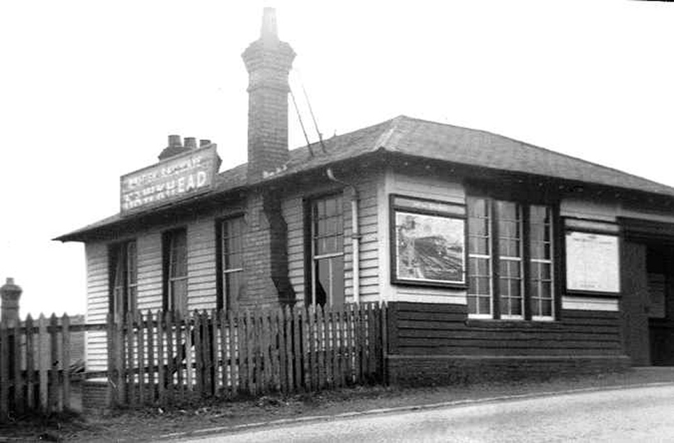 Hawkhead Station 1962  Colin Miller